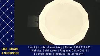 Đèn LED Ốp trần Kim cương Kosoom 24W - 3 chế độ - Đèn trang trí cao cấp - Ánh sáng đẹp sang trọng