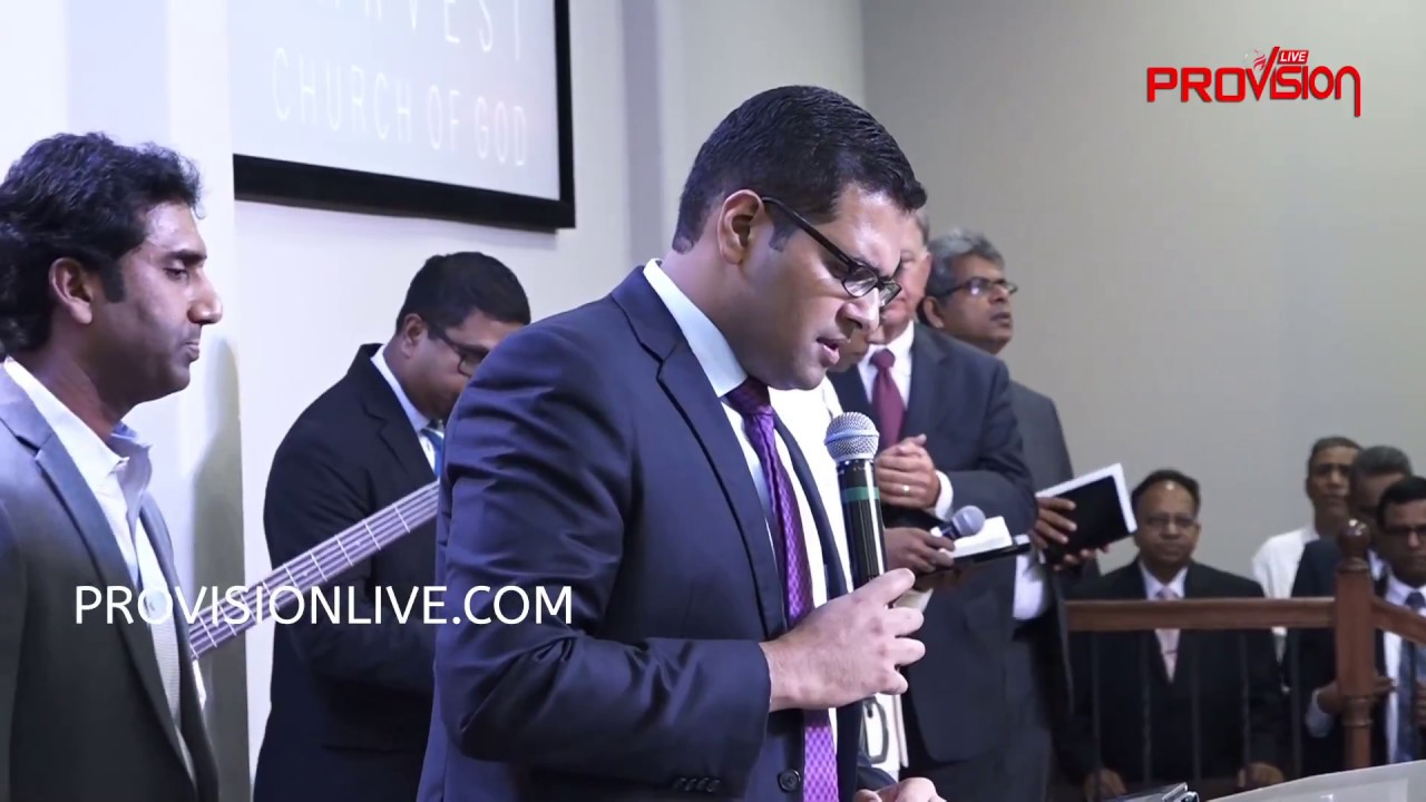 Harvest Church of God Dedication Service