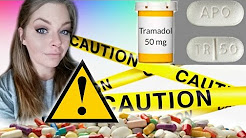 Tramadol (Ultram) Warnings ⚠ and my withdrawal story..