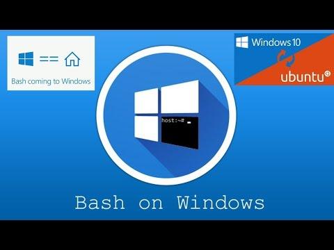 How to Install Ubuntu Linux Bash into Windows 10
