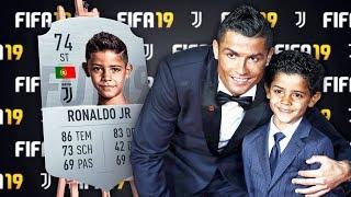 Berühmte Fußballer Söhne in FIFA 🌟🔥 Ronaldo, Messi, Neymar usw.