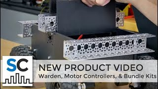 ServoCity Products: Warden, Motor Controllers, & Bundle Kits