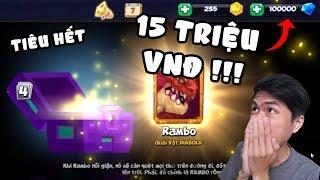 MÌNH ĐÃ TIÊU 15 TRIỆU VNĐ VÀO GAME MOBILE !!! (thử thách đốt tiền)
