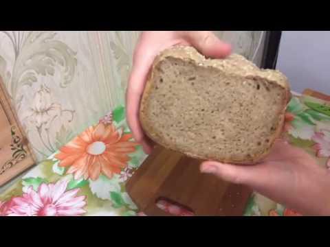 Хлеб на ржаной закваске в хлебопечке