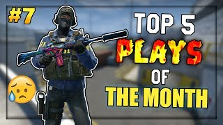 1HP 1v4 CLUTCH?! (Sidste episode) - Top 5 Plays of The Month #7 (DECEMBER)