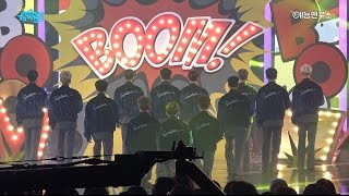 세븐틴 붐붐 쇼 음악중심 20161210 BOOMBOOM SEVENTEEN in 4K