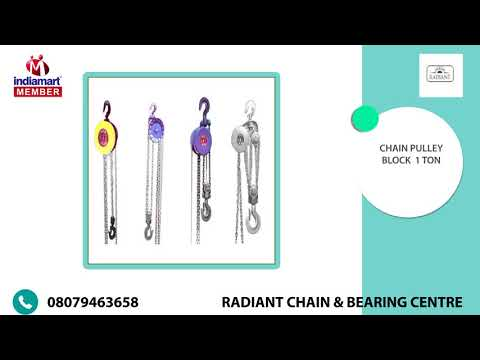 Material Handling Equipment By Radiant Chain & Bearing Centre, Coimbatore