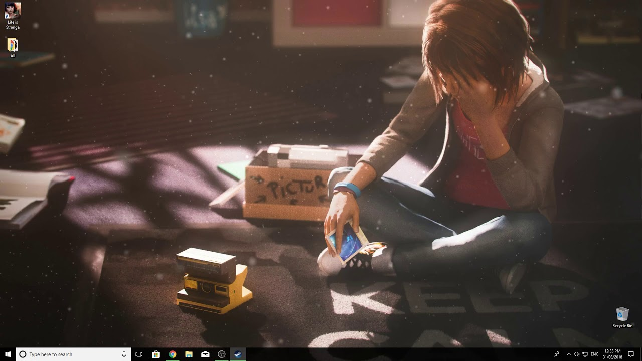 Life Is Strange Wallpaper Engine With Max And Chloe Soundtrack
