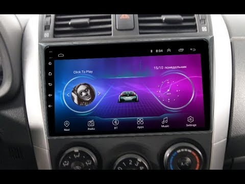 Штатная магнитола Toyota Corolla (2006-2012) Android TA096