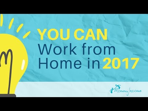 Legitimate Work From Home Opportunity - Part 1