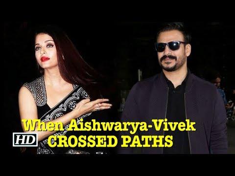 When Ex-lovers Aishwarya Rai & Vivek Oberoi CROSSED PATHS