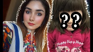 My 4Years Old NIECE Does My VoiceOver || EveryDay No Makeup Makeup Look || Nishoo Khan