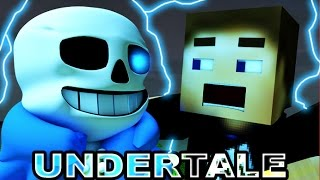 UNDERTALE IN MINECRAFT - MINECRAFT ANIMATION