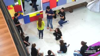 طلاب ستار أكاديمي 9 يرقصون مع رحمة على الطريقة الهندية