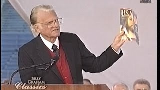 Billy Graham - Who is Jesus? -  Cleveland OH