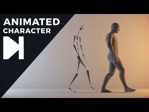 Cinema 4D Tutorial - How To Get Free Animated Characters
