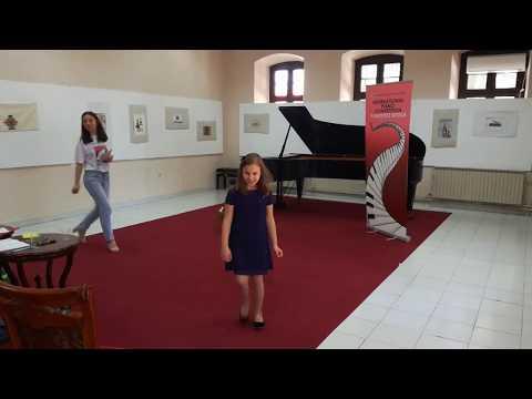 Ana Mancheva - Pianofest Bitola (first Prize)