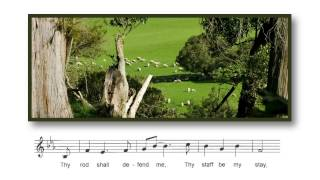 The Lord is My Shepherd Sing Along Track