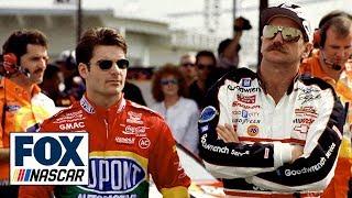 Gambar cover NASCAR drivers choose Team Dale Earnhardt or Team Jeff Gordon   2019 DAYTONA 500   NASCAR on FOX