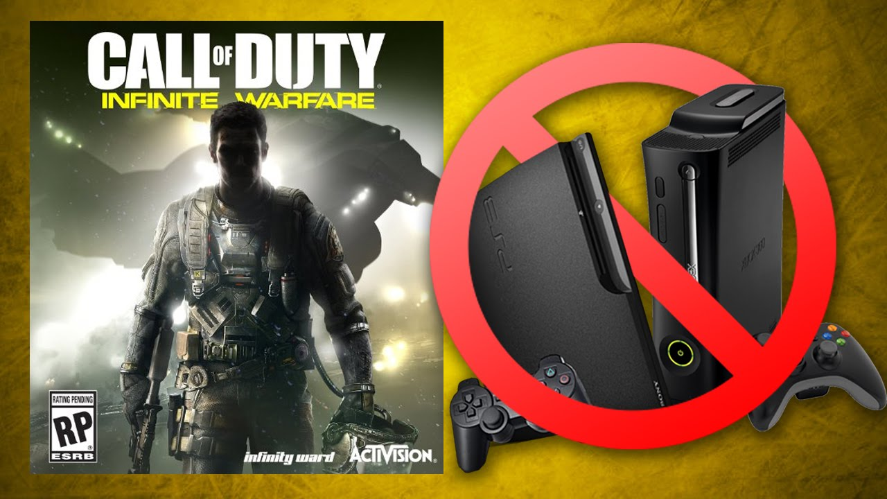 infinite warfare not coming to last gen only ps4 xbox. Black Bedroom Furniture Sets. Home Design Ideas