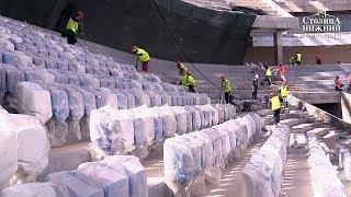 Строители планируют закончить монтаж кресел на стадионе «Нижний Новгород» к концу августа