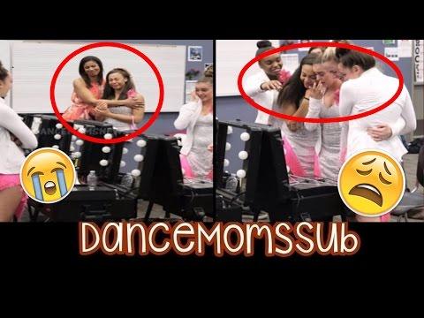Las chicas lloran ante el final de Dance Moms!
