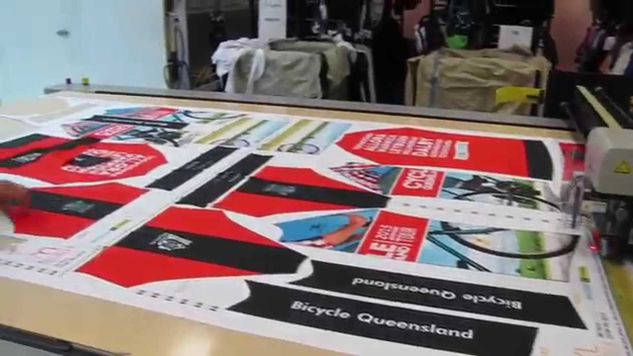 How To Make A Cycling Jersey Bicycle Queensland Scody Youtube