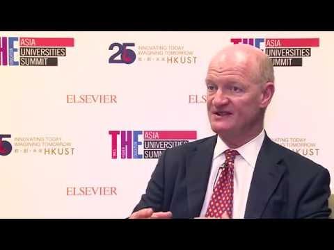 THE Asia Universities Summit 2016: David Willetts interview