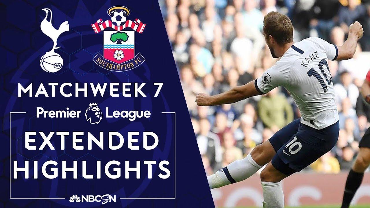 Tottenham v. Southampton | PREMIER LEAGUE HIGHLIGHTS | 9/28/19 | NBC Sports