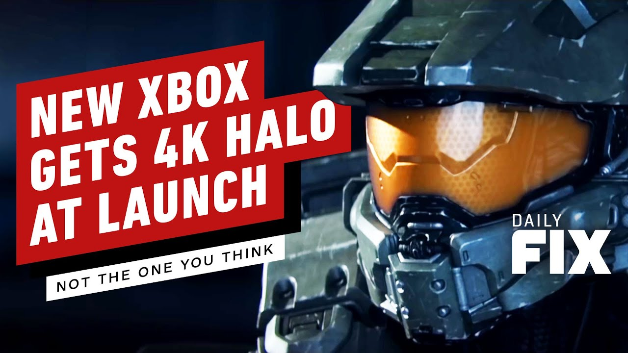 Xbox Series X Gets 4k/120fps Halo At Launch – IGN Daily Fix – IGN