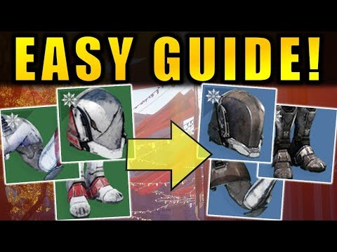 Destiny 2: EASY GUIDE to Upgrade Solstice Armor! | Scorched (Green) to Rekindled (Blue)
