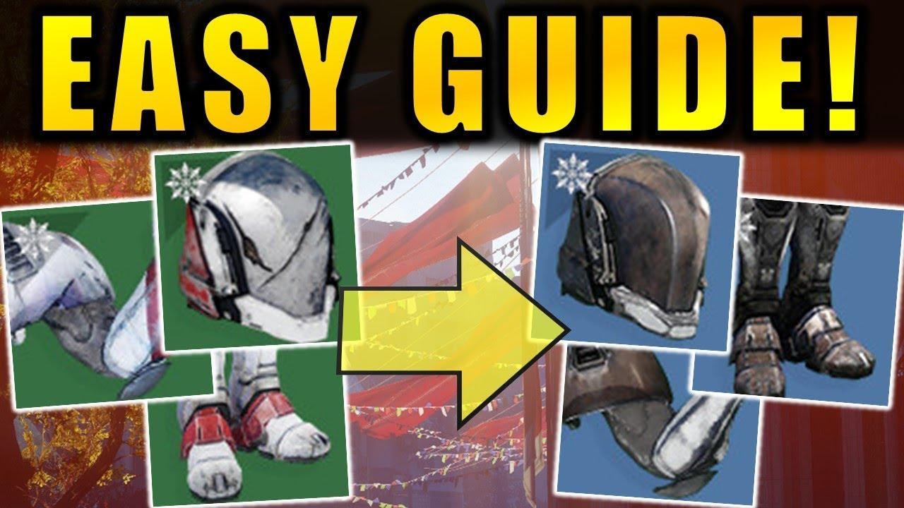 Destiny 2: EASY GUIDE to Upgrade Solstice Armor ...