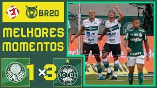 PALMEIRAS 1 X 3 CORITIBA - MELHORES MOMENTOS - BRASILEIRÃO (14/10/2020)