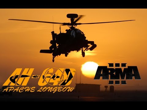 "AH-64D Apache Longbow ""Не убегай, а то умрешь уставшим"" (обзор вертолета и мода для ARMA 3)"