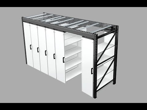 LevPRO | Affordable Mobile Aisle Shelving | Midwest Storage Solutions