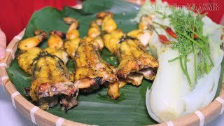Grilled Frog with Citronella, Sate Chilli Sauce and Honey... || Street Food & ASMR
