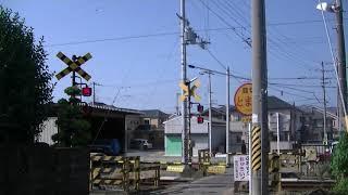 00157 出島踏切 JR和歌山線布施屋駅と千旦駅の間の踏切