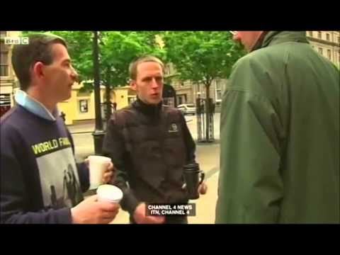 Dundee junkies discuss Scottish independence on the Frankie Boyle show.