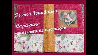 Foundation Capa para Porta documentos do bebê