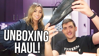 UNBOXING HAUL WITH PHIL