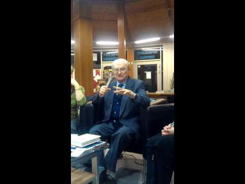 prof. Milan Ďurica; otázky prítomných, Jozef Tiso - Ivanka pri Dunaji 15. 11. 2012 5/5