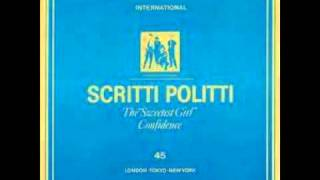 Scritti Politti - The Sweetest Girl