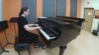 Bach - Invention no 4 (2018-05-12)