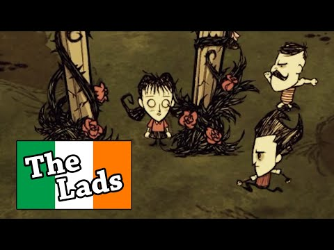 We gathered The Irish Lads to survive a famine in Don't Starve Together |