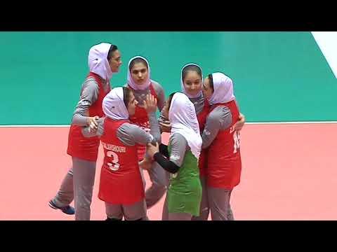 SMM 12th Asian Est Cola Women's U17 Volleyball Championship คู่ชิงที่ 7 อิหร่าน vs อินเดีย