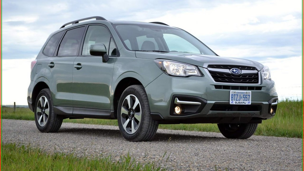 Subaru Forester 2017 2 5i Premium Interior Exterior Reviews