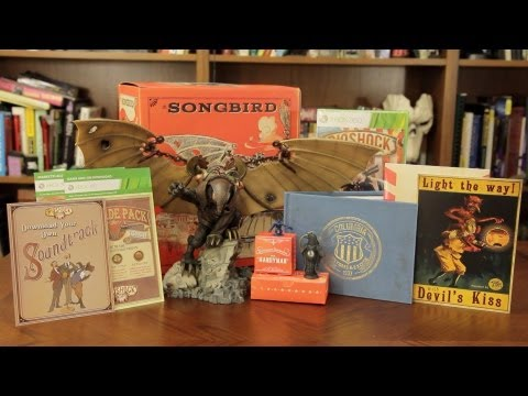 Unboxing: Bioshock Infinite Ultimate Songbird Edition
