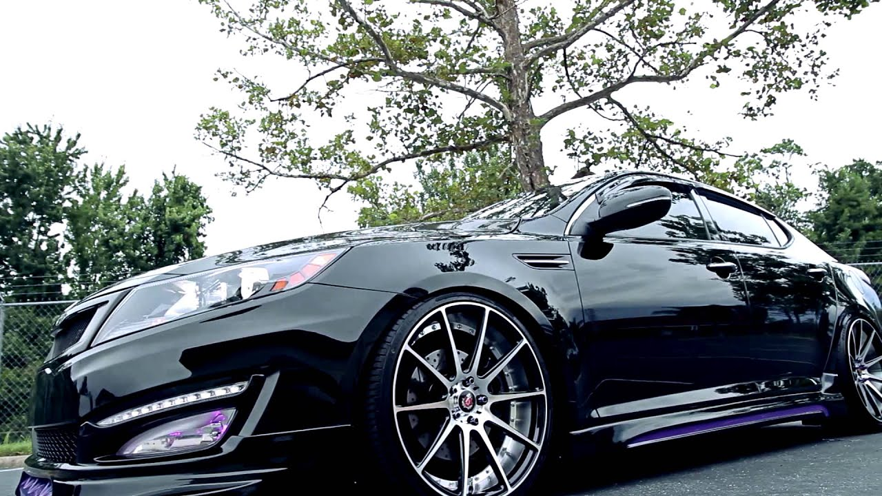 Kia Optima On Axe Ex16 S Youtube