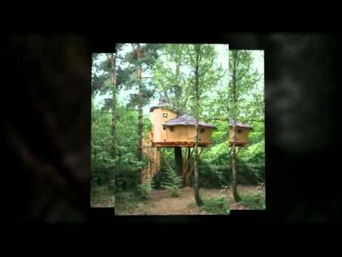 cabane dans les arbres en bretagne la vall e de pratmeur youtube. Black Bedroom Furniture Sets. Home Design Ideas