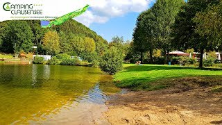 Camping **** Clausensee Germany | our FIRST Camping experience 3 Days